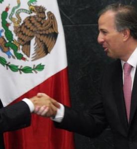 Sale José Antonio Meade de Hacienda, se registra como precandidato del PRI